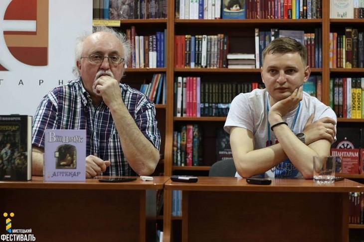 Юрій Винничук (зліва) та Юрій Матевощук.