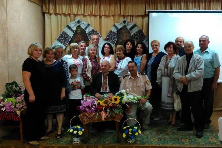 Під час святкування 90-річчя Богдана Головина.