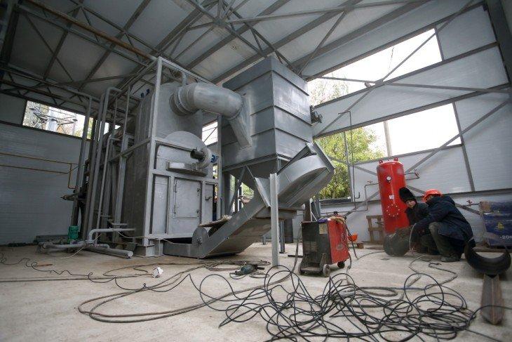 Реконструкція звичайної котельні на альтернативне паливо.