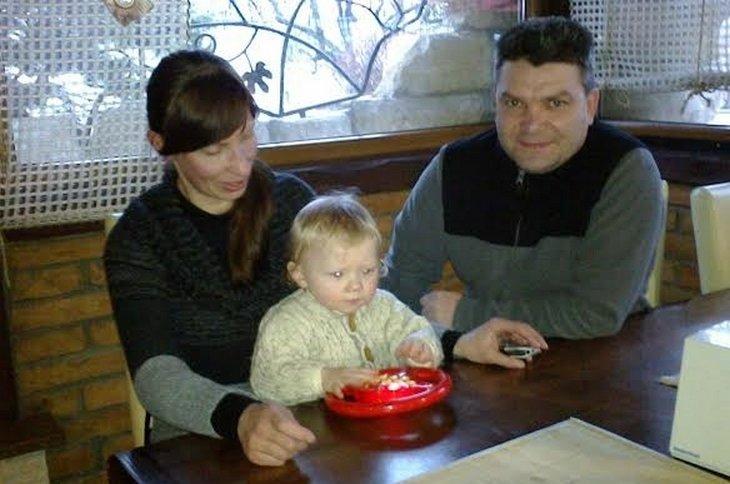 З бережанкою Наталею, яка назвала сина на честь Устима Голоднюка.