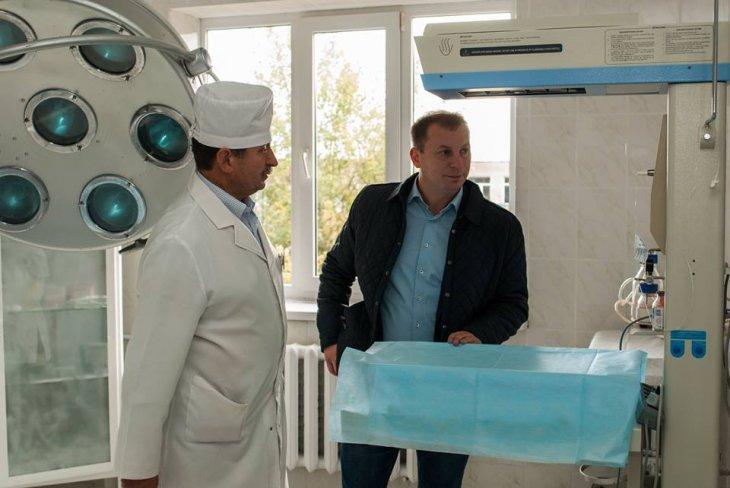У Підгаєцькій районній лікарні.