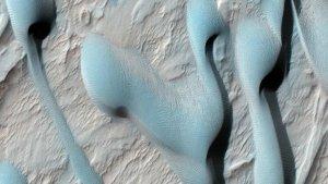 Приголомшливі піщані дюни Марсу не мають нічого схожого з природними явищами нашої планети